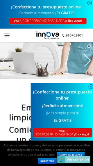 Mobile preview of innovafs.es