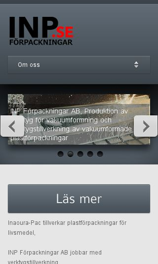 Mobile preview of inp.se