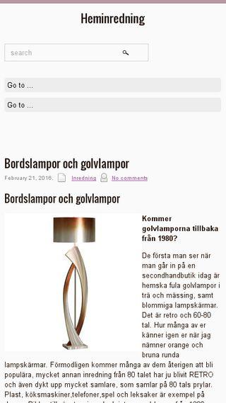 Mobile preview of inredninghem.nu