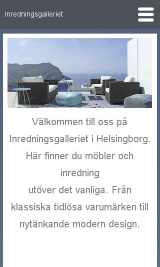 Mobile preview of inredningsgalleriet.se