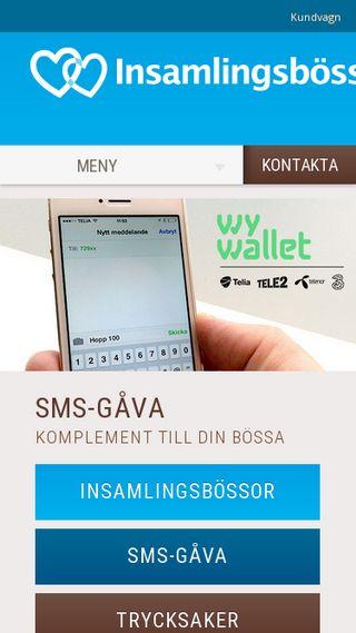 Mobile preview of insamlingsbossan.se