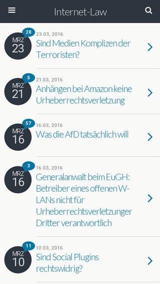 Mobile preview of leistungsschutzrecht.org