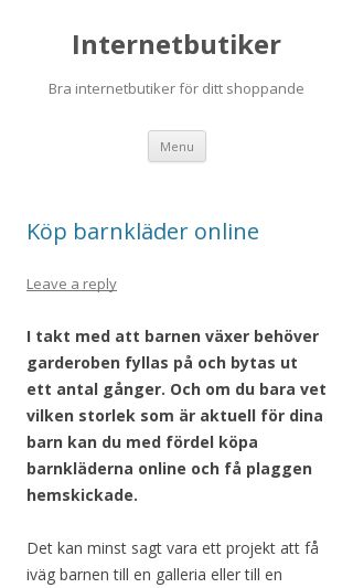 Mobile preview of internetbutiker.se