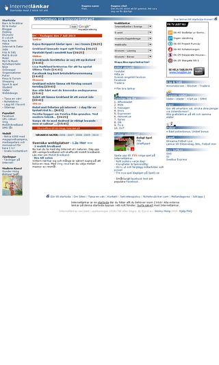 Mobile preview of internetlankar.se