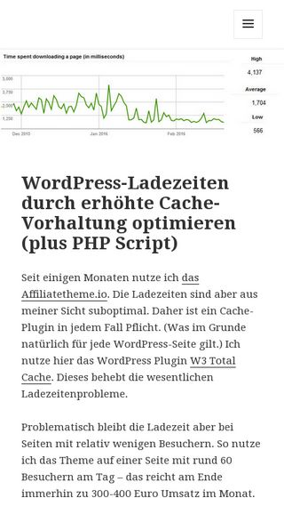 Mobile preview of internetmarketing-news.de