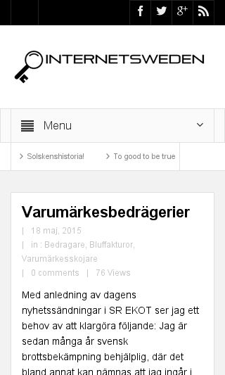Mobile preview of internetsweden.se