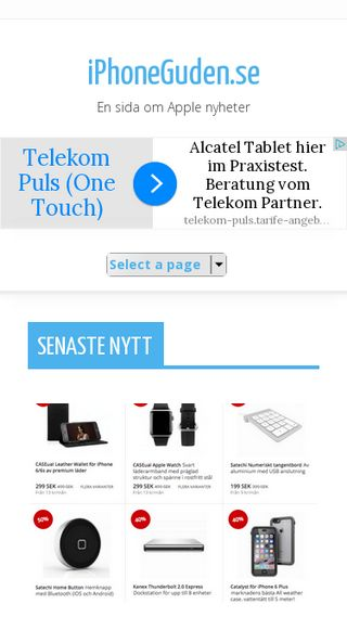 Mobile preview of iphoneguden.se