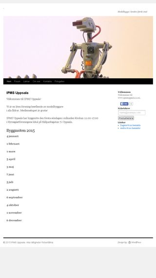 Mobile preview of ipmsuppsala.n.nu