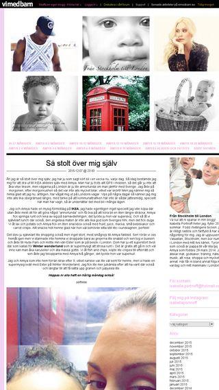 Mobile preview of isabellaportnoff.vimedbarn.se