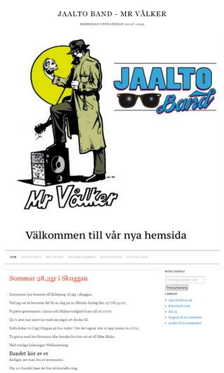 Mobile preview of jaaltoband.se
