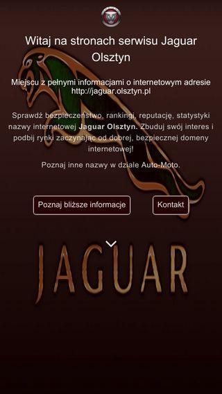 Mobile preview of jaguar.olsztyn.pl