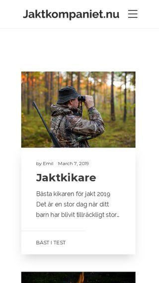 Mobile preview of jaktkompaniet.nu