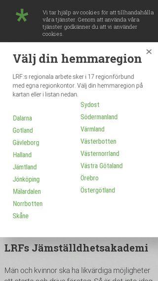 Mobile preview of jamstalldhetsakademin.se