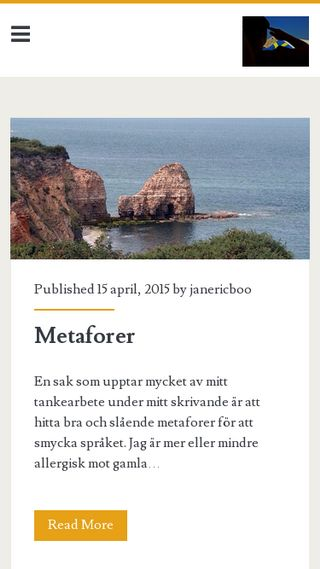 Mobile preview of janericboo.se