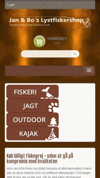 Mobile preview of janogbo.dk