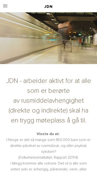 Mobile preview of jdn.no