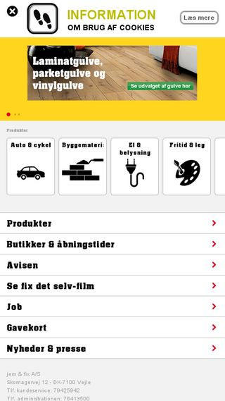 Mobile preview of jemogfix.dk
