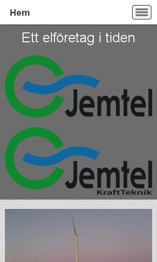 Mobile preview of jemtel.se