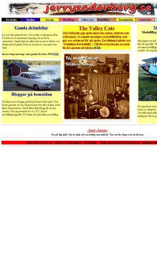 Mobile preview of jerrysoderberg.se