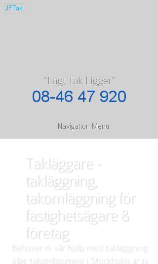 Mobile preview of jftak.se