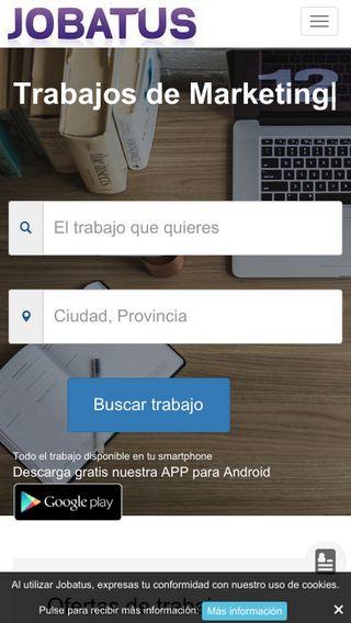 Mobile preview of jobatus.es