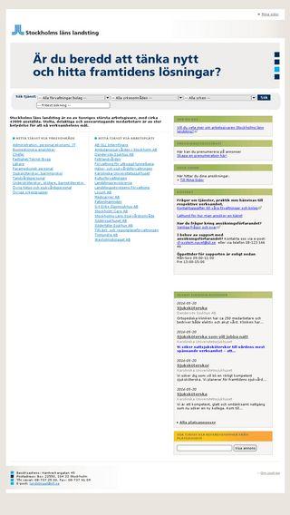 Mobile preview of jobb.sll.se