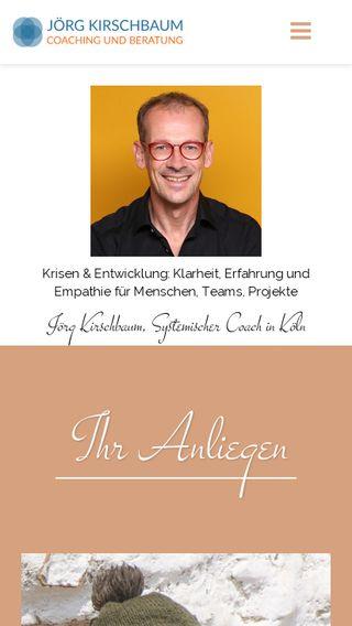 Mobile preview of joergkirschbaum.de