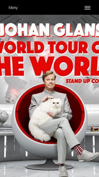 Mobile preview of johanglansworldtour.se
