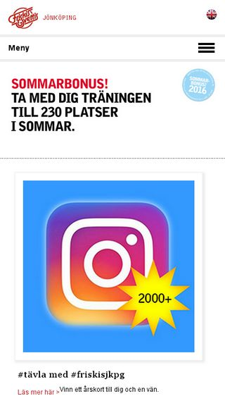 Mobile preview of jonkoping.friskissvettis.se
