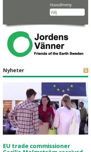 Mobile preview of jordensvanner.se