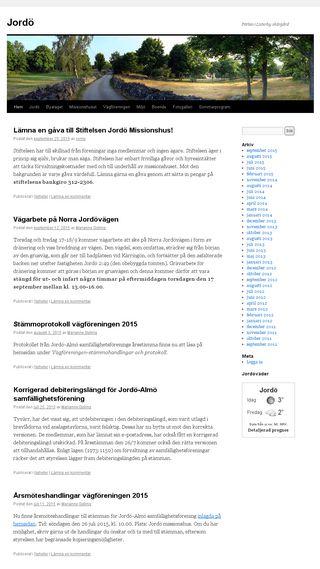 Mobile preview of jordo.se
