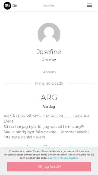 Mobile preview of josefineis.myshowroom.se