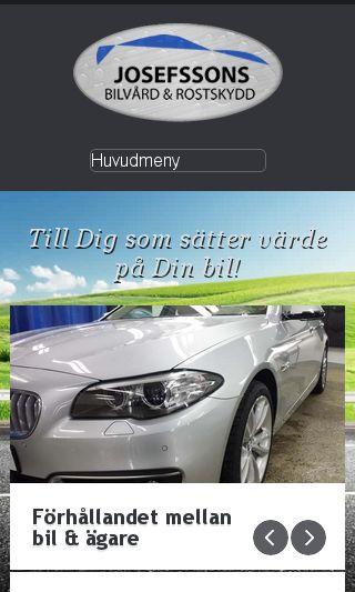 Mobile preview of josefssonsbilvard.se