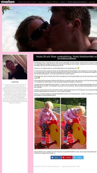 Mobile preview of jossan87.vimedbarn.se