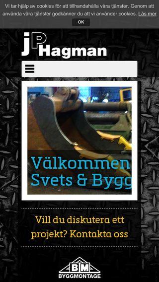 Mobile preview of jphagman.se