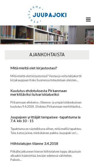 Mobile preview of juupajoki.fi