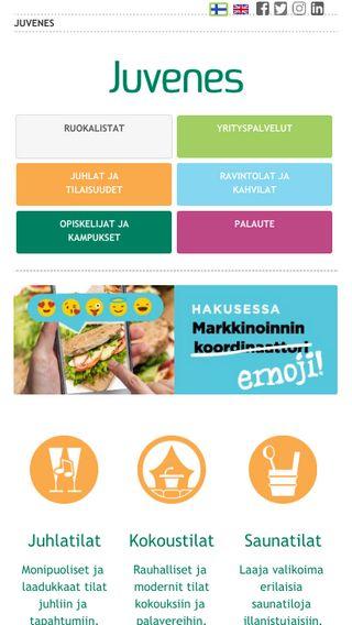 Mobile preview of juvenes.fi