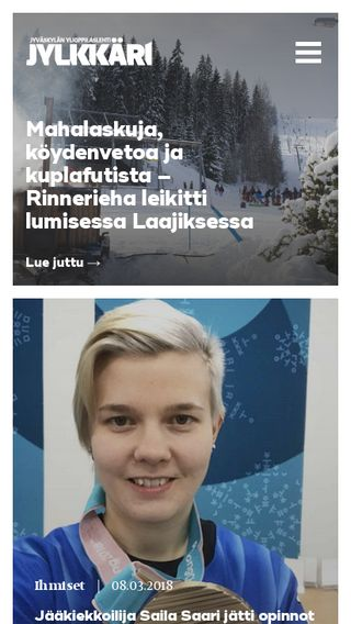 Mobile preview of itjkl.fi