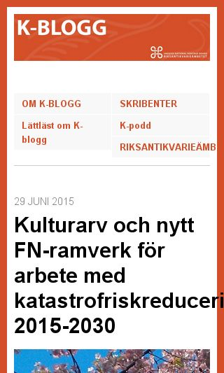 Mobile preview of k-blogg.se