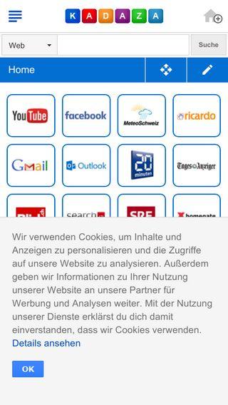 Mobile preview of kadaza.ch