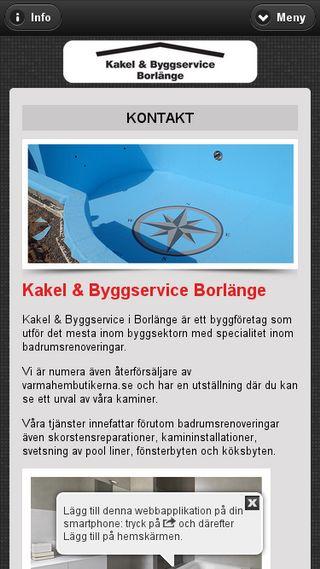 Mobile preview of kakelochbyggservice.se