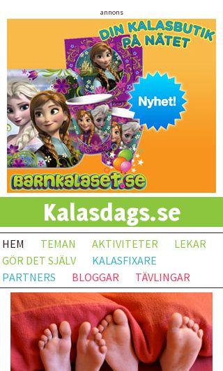 Mobile preview of kalasdags.se