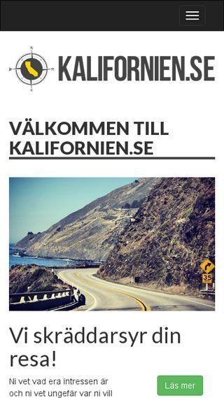 Mobile preview of kalifornien.se