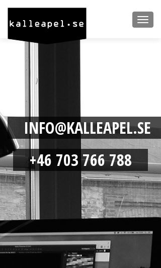 Mobile preview of kalleapel.se