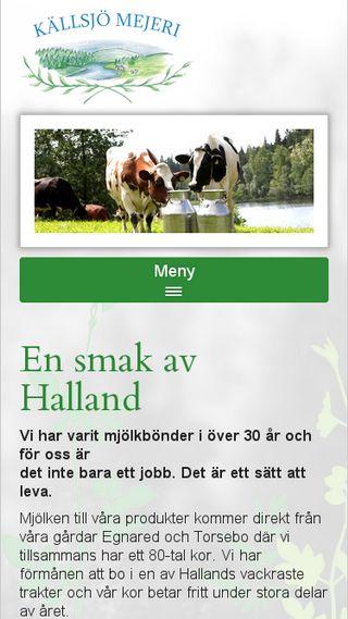 Mobile preview of kallsjomejeri.se