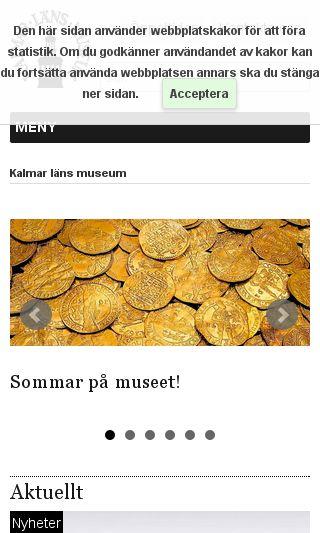 Mobile preview of kalmarlansmuseum.se