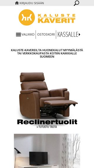 Mobile preview of kalustekaverit.fi