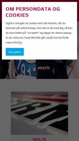Mobile preview of kamark.dk
