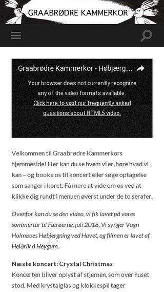 Mobile preview of kammerkor.dk