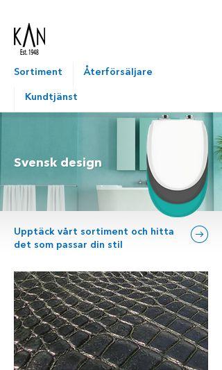 Mobile preview of kandre.se